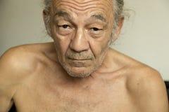 Portrait de l'aîné Photographie stock libre de droits