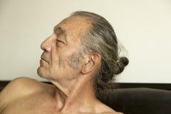 Portrait de l'aîné Photo libre de droits