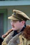 Portrait de l'homme dans la vitesse de guerre mondiale Photos libres de droits