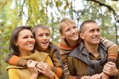 Portrait de la détente de famille Photo libre de droits