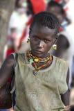 Portrait de la femme de Hamar Photo stock
