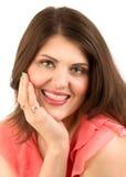Portrait de la femme de taquinerie Image libre de droits