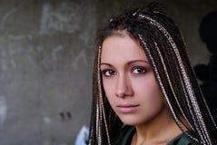 Portrait de la fille Image libre de droits