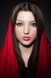 Portrait de la jeune femme Images stock