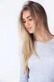Portrait de la jeune femme Image stock