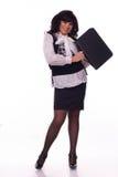 Portrait de la jeune femme d'affaires Image stock