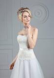 Portrait de la jeune mariée Images stock