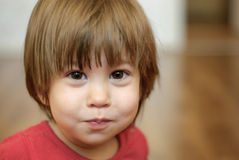 Portrait de la petite fille Photographie stock libre de droits