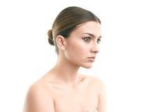 Portrait de luxe de maquillage Photos libres de droits