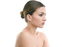 Portrait de luxe de maquillage Images libres de droits