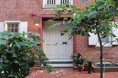 Portrait de maison de Philadelphie photos stock