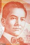 Portrait de Manuel LuÃs Quezon photos stock