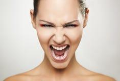 Portrait de maquillage Images libres de droits