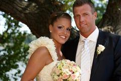 Portrait de mariage Images stock