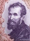 Portrait de Michaël Angelo d'argent italien