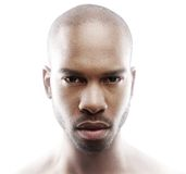 Portrait de mode d'un modèle masculin Image libre de droits