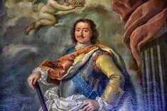Portrait de Peter le grand Image stock