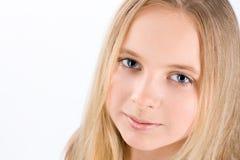 Portrait de petite fille Images stock