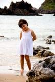 Portrait de petite fille Photos libres de droits