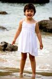 Portrait de petite fille Images libres de droits