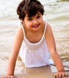 Portrait de petite fille Image libre de droits