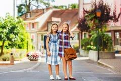 Portrait de petites filles mignonnes Photos libres de droits