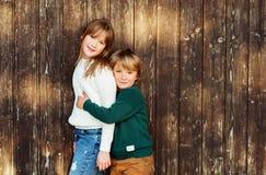 Portrait de petits enfants Photos stock