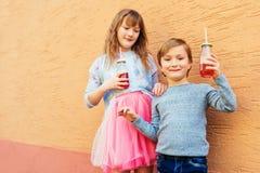 Portrait de petits enfants Photos libres de droits