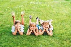Portrait de petits enfants Images libres de droits