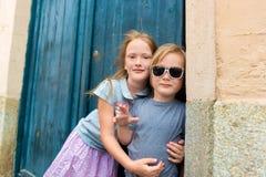 Portrait de petits enfants mignons Photo stock