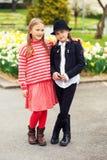 Portrait de petits enfants mignons Image stock