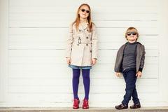 Portrait de petits enfants mignons Photographie stock libre de droits