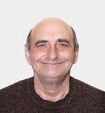 Image de plan rapproché d'un homme âgé heureux Photographie stock libre de droits