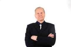 Portrait de plan rapproché d'un homme d'affaires dans un costume Photos stock