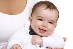 Portrait de plan rapproché de beau bébé garçon Image libre de droits
