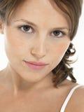 Portrait de plan rapproché de belle femme photo libre de droits
