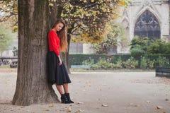 Portrait de plein corps de belle jeune femme photographie stock libre de droits