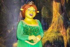 Portrait de princesse Fiona - statue de cire, Amsterdam de Madame Tussaud's images stock