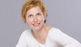 Portrait de quarante ans de femme Photos stock