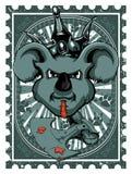 Rat de roi illustration de vecteur