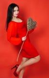 Portrait de Saint-Valentin Images libres de droits