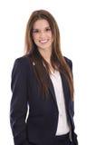 Portrait de sourire d'une jeune femme d'affaires de sourire réussie Photos libres de droits