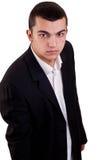 Portrait de studio d'un jeune homme dans le costume Photo libre de droits