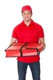 Portrait de type de la livraison de pizza Image stock