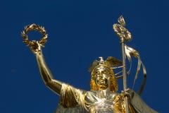 Portrait de Victory Column en Berlin Siegessaeule image stock