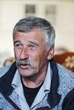 Portrait de vieil homme Image libre de droits