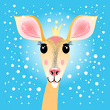 Portrait of a deer Royalty Free Stock Photos