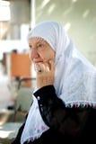Portrait der älteren Dame Stockbild