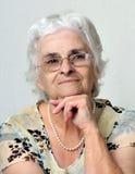 Porträt älterer Dame