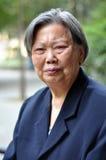 Portrait der älteren Frau Lizenzfreies Stockbild